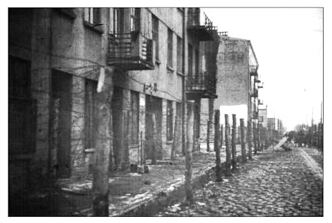 Zigeuner Lager camp Tzigane Ghetto Lodz Litzmannstadt photo archives Francfort  Frankfurt.
